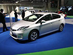Toyota Prius: Hybride liegen bei den alternativen Antrieben in Japan weiter ganz vorn.