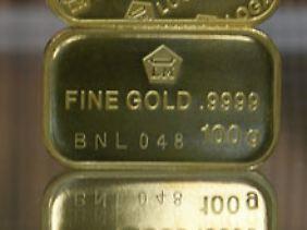 Die aufgekaufte Goldmenge entspricht 15.000 dieser 100 Gramm Barren.