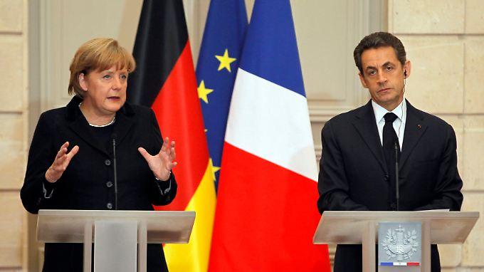 Deutschland und Frankreich präsentieren sich voll auf einer Linie.