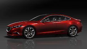 Die Konzept-Limousine Takeri gibt einen Ausblick auf den nächsten Mazda 6.