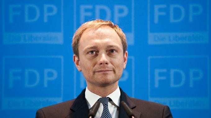 SPD vermutet Bauernopfer: Lindner tritt als Generalsekretär zurück