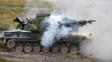 """Panzer für """"Frieden und Freiheit"""": Der Fuhrpark der Bundeswehr"""