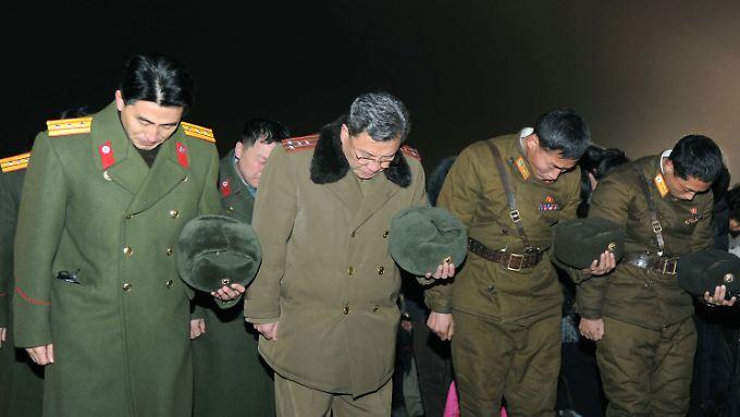 Besorgnis nach dem Tod von Kim Jong Il: Wie geht es weiter mit Nordkorea?