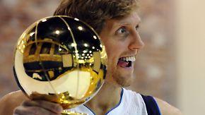 Für Mavericks-Fans schon jetzt unsterblich: Nowitzki glaubt an Titelverteidigung