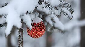 Dieses Weihnachten wird in Skandinavien weniger von Schnee als vom Sturm geprägt.