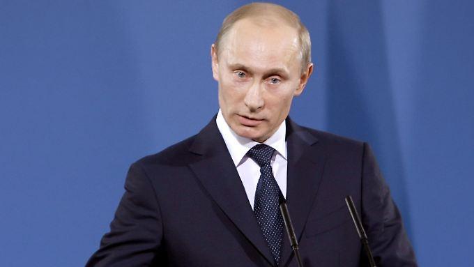 Wladimir Putin nimmt die türkische Hürde.