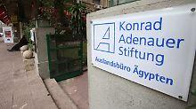 Auch die Konrad-Adenauer-Stiftung ist betroffen.