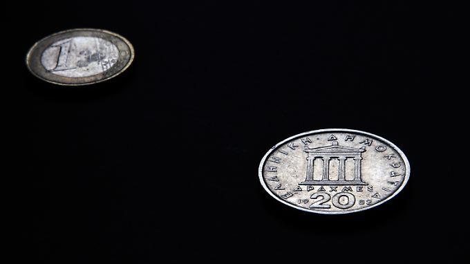 Kleiner Euro, große Drachme.