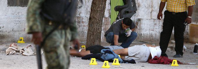 Trauriger Alltag in Ciudad Juárez.