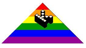 """Das Logo """"Kopimi"""" der neuen Religionsgemeinschaft darf nach belieben kopiert, verändert und remixt werden."""