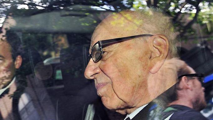 Die Kritik an Rupert Murdoch reißt nicht ab.