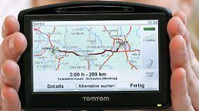 Warnfunktionen auf Navigationsgeräten werden durch die Polizei kaum untersucht.