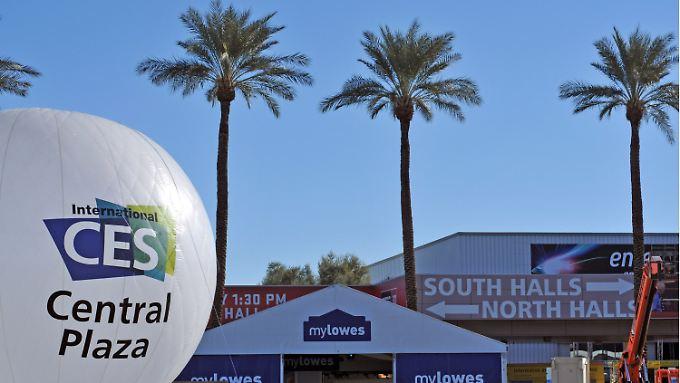 CES in Las Vegas startet: Technikfans schauen in die Wüste