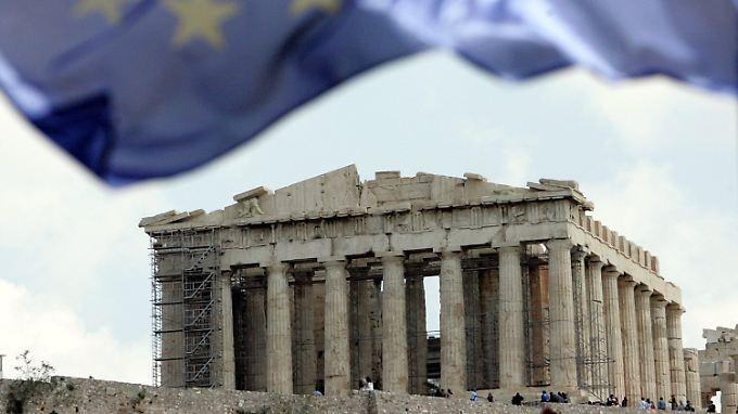 Akropolis zu vermieten: Es steht schlimm um Griechenland
