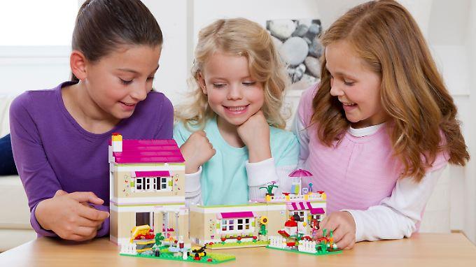 Sie wollen doch nur spielen: Vorweihnachtlicher Lego-Stress.