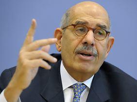 Der ehemalige Chef der Atomenergiebehörde IAEA, Mohammed el Baradei will nicht Präsident des neuen Ägypten werden.