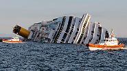 """""""Costa Concordia"""" verunglückt: Kreuzfahrtschiff läuft auf Grund"""