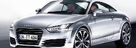 Die dritte Generation des Audi TT trifft auch auf konzerninterne Konkurrenz.