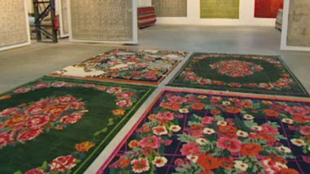 n tv ratgeber bauen wohnen designer teppiche von jan. Black Bedroom Furniture Sets. Home Design Ideas