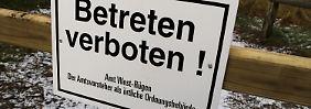 Sperrung der Steilküste: Kilometerlange Risse auf Hiddensee