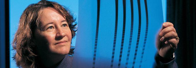 Carol Greider entdeckte den Hinweis auf das Enzym.
