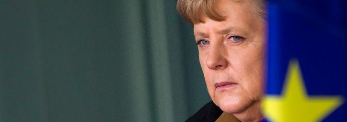 Zwischen Parlament, Partei und Weltöffentlichkeit: Angela Merkel.