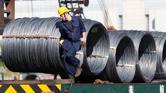 Japans Stahlindustrie steht vor schwierigen Zeiten.