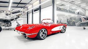 Ein 6,2-Liter-V8 treibt die Corvette in 3,9 Sekunden auf 100 km/h.