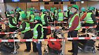 Mehr Platz für die Mäntel: Trockentest im neuen Hauptstadtflughafen