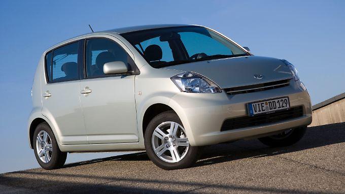 Der Daihatsu Sirion hebt sich vom Kleinwagen-Einerlei ab.