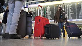 Streik am Flughafen: Welche Rechte haben Passagiere?