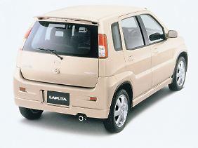 Mit dem Namen Laputa hat sich Mazda in spanischsprachigen Ländern keinen Gefallen getan.