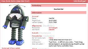 """""""Hoebot"""" erbeutete 2007 StudiVZ-Mitgliedern mit Hilfe einer falschen Nutzer-ID Profil-Daten."""