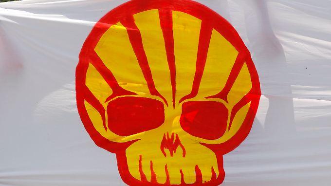 Das zum Teil aggressive Vorgehen Shells auf dem afrikanischen Kontinent kommt bei den dort lebenden Menschen nicht immer gut an.