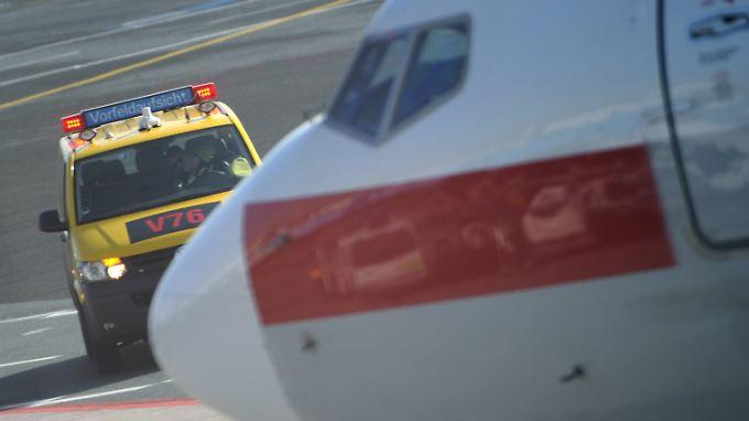 Die Flieger in Frankfurt rollen wieder.