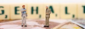 Nur wer sich vorher über seinen Marktwert informiert hat, kann standfest in die Gehaltsverhandlungen treten. Foto:Franziska Koark