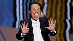Das Lachen täuscht: Auch Moderator Billy Crystal konnte die Show nicht retten.