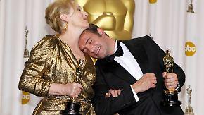 """Dritter Oscar für Meryl Streep: """"The Artist"""" ist der beste Film"""