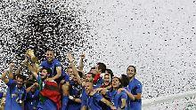 Italien will in Puma-Trikots den EM-Titel holen. 196 gelang der Squadra Azzurra das zum letzten Mal.