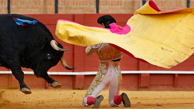 Spanien: Auge in Auge mit der Krise.