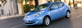 Flüsterleise wird der Nissan Leaf nun auch in Deutschland durch die Straßen fahren.