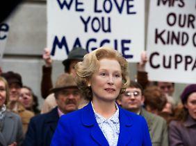 Geliebt und gehasst: Thatcher hatte viele Anhänger hinter sich, ...