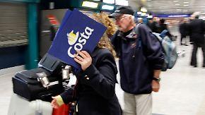 """""""Costa Allegra""""-Drama zu Ende: Passagiere fliegen erleichtert heim"""