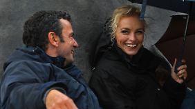 Regisseur Christian Petzold mit Nina Hoss.