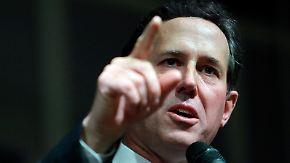 Der Kreuzritter für ein moralisches Amerika: Rick Santorum im Porträt