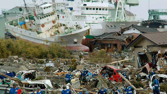 Der 11. März 2011 hat ganze Landstriche verwüstet.