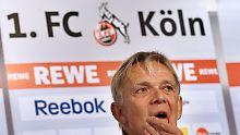 Volker Finke, kein Kölner mehr.