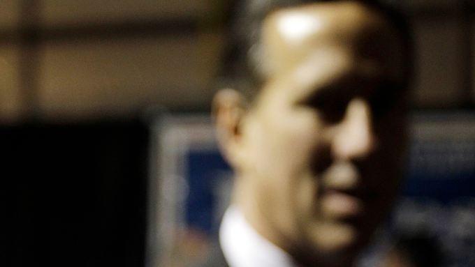 Rick Santorum hat erst gut 200 Delegierte für den Nominierungsparteitag zusammen. Wie alle anderen Bewerber braucht er am Ende mindestens 1144.