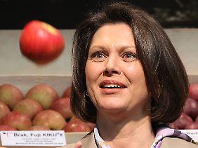 Mehr essen als wegwerfen, sagt Verbraucherschutzministerin Aigner.