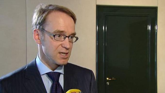 "Bundesbank-Präsident Weidmann im Interview: ""Schlüssel liegt bei der Finanzpolitik"""